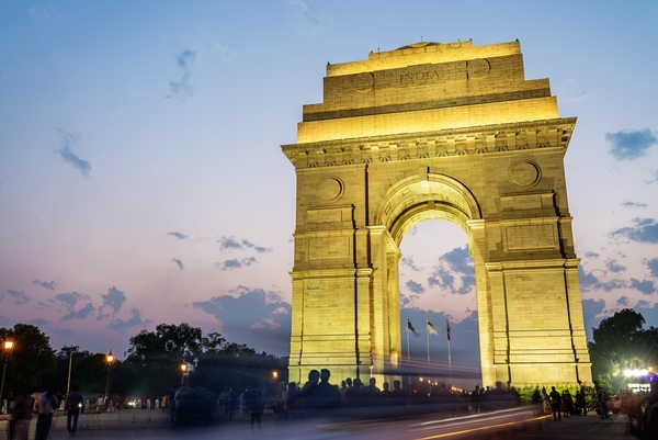India Gate of New Delhi